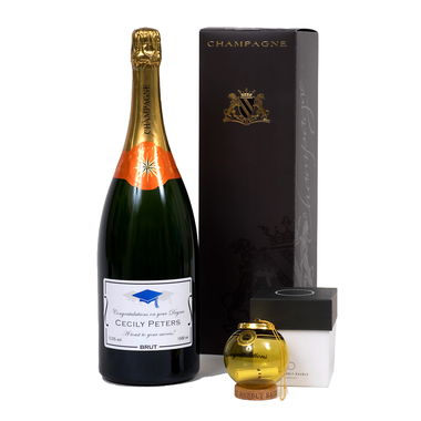 personalised-champagne-graduation