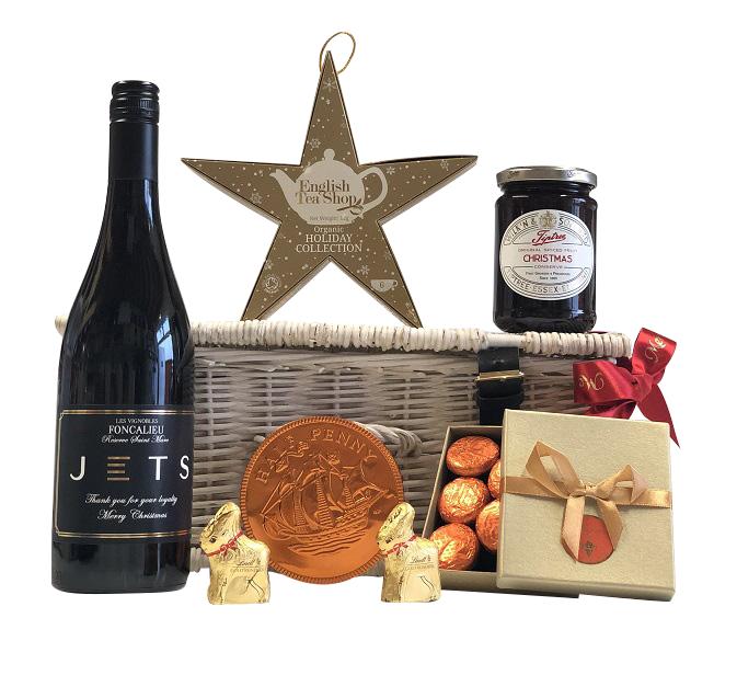 personalised-Christmas-Champagne-Hamper