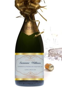 personalised-champagne-jeroboam-with-gold-bow