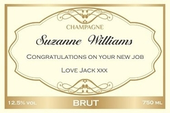 Cream-Gold-personalised-Champagne-Label