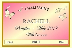 Pink-Butterfly-personalised-Champagne-label